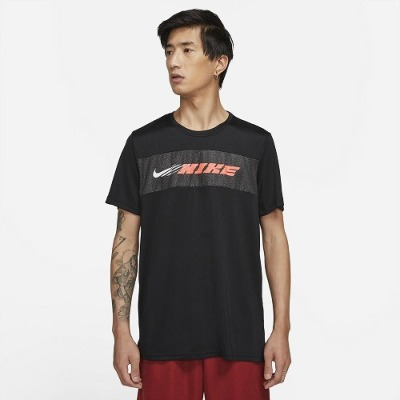 ナイキ DRI-FIT スーパーセット SC ENE S/S Tシャツ【CZ1497-010】ブラック