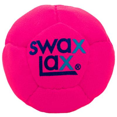 SwaxLax ソフトウェイテッド トレーニングボール ネオンピンク